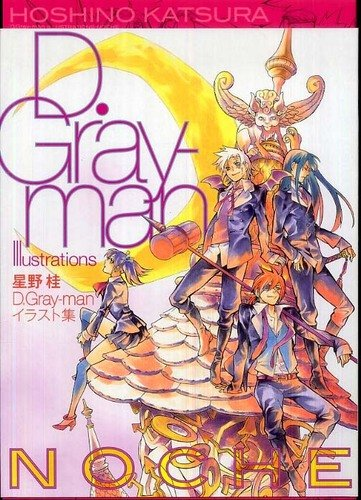 D.Gray-man TV Anime Visual Collection w//Card //Japanese Illustrations Art Book