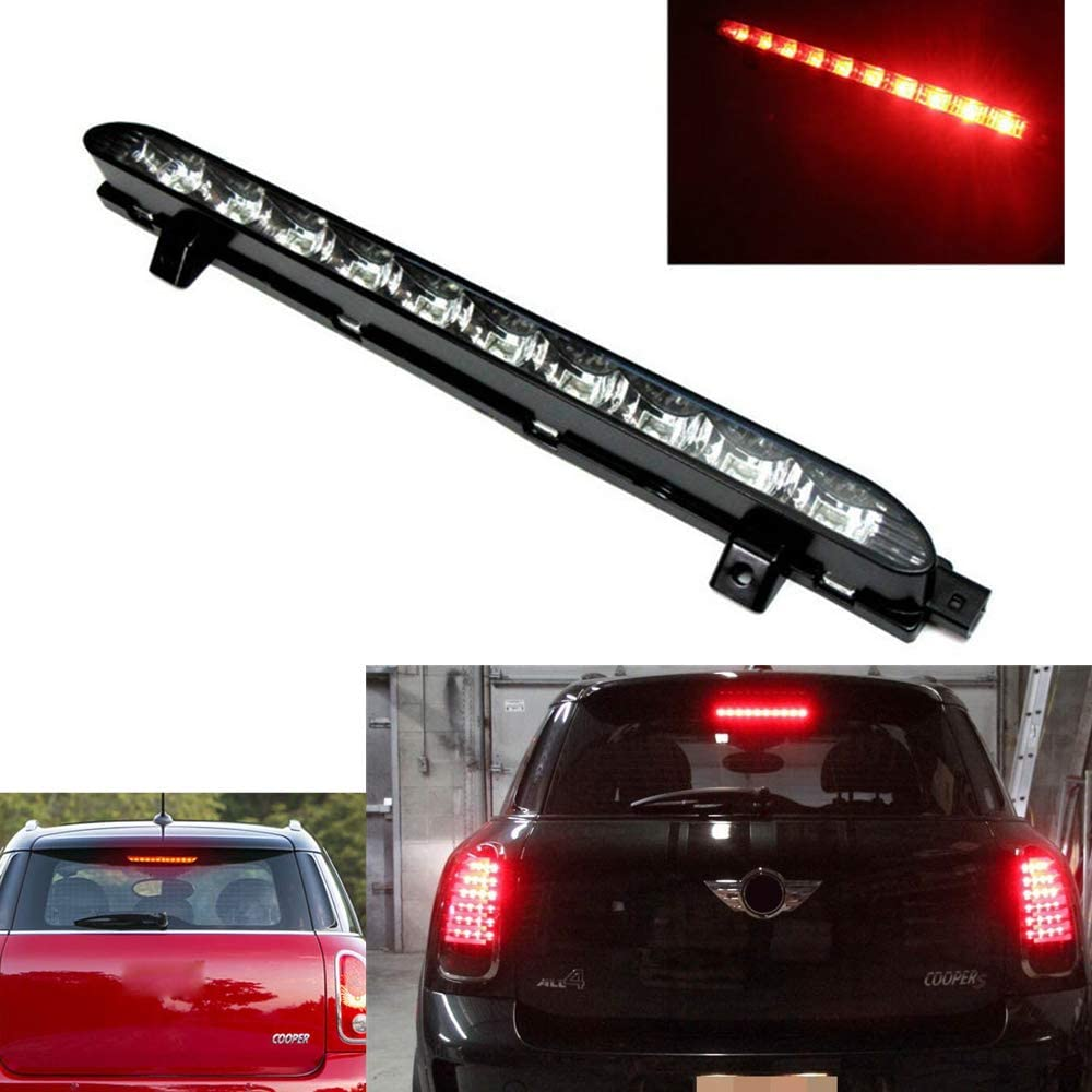 Miniclue Red LED 3rd Brake Light Lamp For 2007-2014 MINI Cooper R56 R57 R58 R60