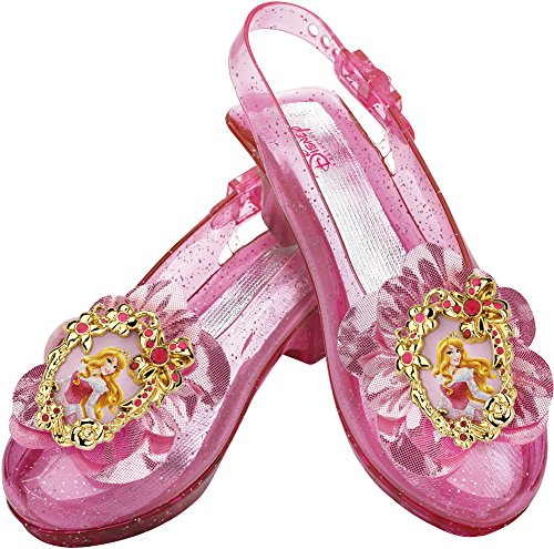 [Disguise Disney Princess Sleeping Beauty Aurora Sparkle Shoes] (Hoe Down Costumes)