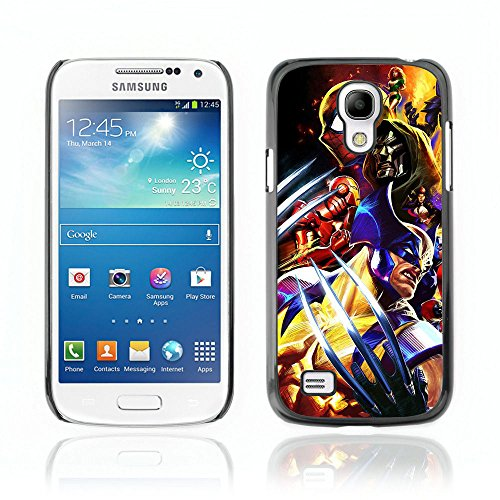 CASETOPIA / Video Game Charachters / Samsung Galaxy S4 Mini i9190 MINI VERSION! / Black Hard Back Case Cover Shell Armor (Cartoon Charachters)