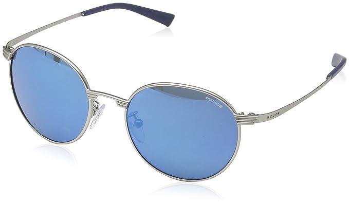 Amazon.com: Police anteojos de sol s8954 581B metal, color ...