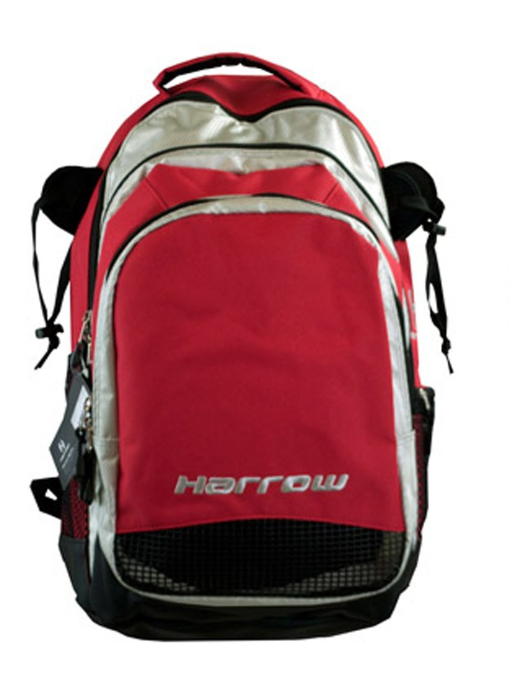 Harrow Elite Backpack, Red/Silver