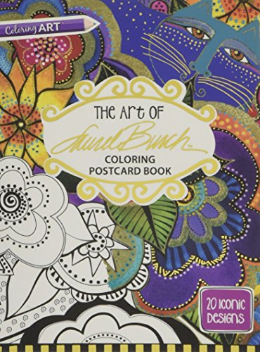 Heavy Embellished Trim - The Art of Laurel BurchTM Coloring Postcard Book: 20 Iconic Designs