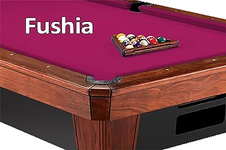 Amazoncom Simonis Fuschia Pool Table Cloth Felt Sports - Pink pool table felt