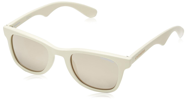 Carrera 6000 UE N5A Gafas de Sol, (Beige/Grey Ivory Mirror), 50 Unisex-Adulto