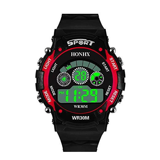 Digital Watch for Men, DYTA Sport Watches 5 ATM Waterproof Outdoor LED Watch Military Wrist