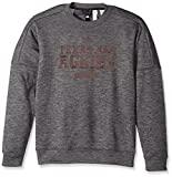 adidas NCAA Texas A&M Aggies Men's Sideline Chiseled Team Issue Fleece Crew Sweat Shirt, Medium, Dark Gray