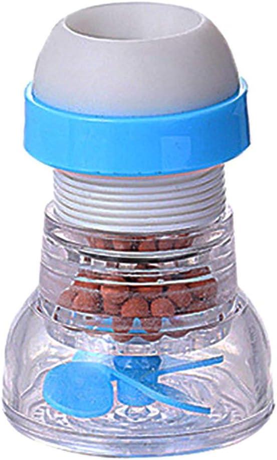 SeniorMar Robinet Splash Dispositif D/économie deau Cuisine Arroseur Pomme De Douche R/étractable Rotatif Douche Filtre