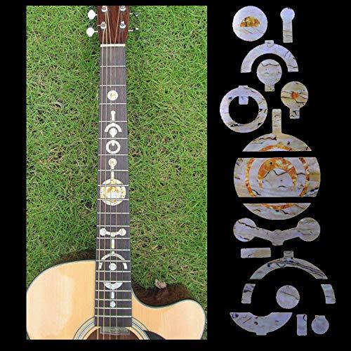 FidgetGear Fretboard Markers Inlay Sticker DIY Decals For Acoustic Electric Guitar Neck from FidgetGear