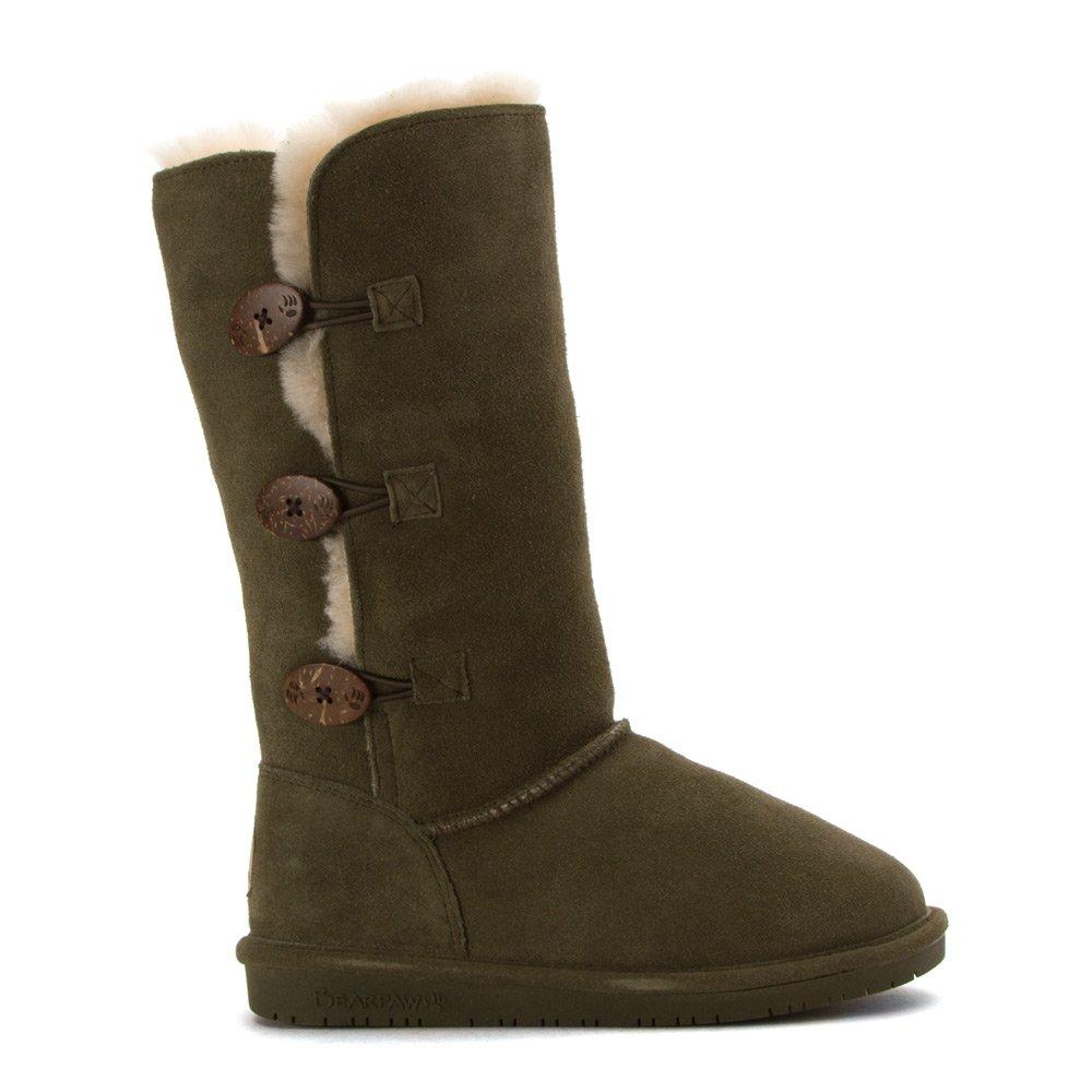 BEARPAW Women's Lauren Tall Winter Boot B01DK4A44E 8 B(M) US|Olive