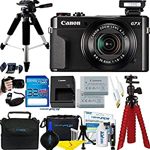61ZDQ0pPx L. SS300  - Canon PowerShot G7 X Mark II 20.1MP 4.2x Optical Zoom Digital Camera + Accessories Bundle - International Version