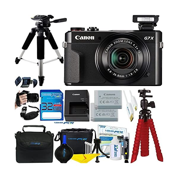 61ZDQ0pPx L. SS600  - Canon PowerShot G7 X Mark II 20.1MP 4.2x Optical Zoom Digital Camera + Accessories Bundle - International Version