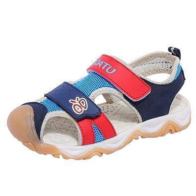 Sandales Garçon chaussures de marche d'été enfa... GJoJy1