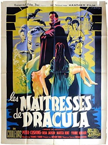 Los MAITRESSES de Drácula Póster de película, 160 x 120 cm-1960-Peter, Cushing Terence Fisher: Amazon.es: Juguetes y juegos