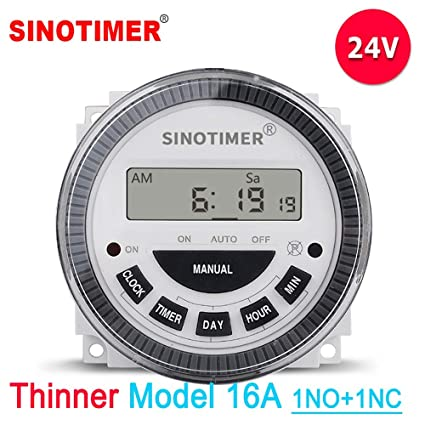 Factory Price Thinner TM619 1NO1NC Volt free Output 16A Time ... on