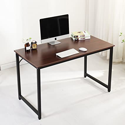 Soges Computer Desk 47u0026quot; Sturdy Office Meeting/Training Desk Writing  Desk Workstation Computer Table