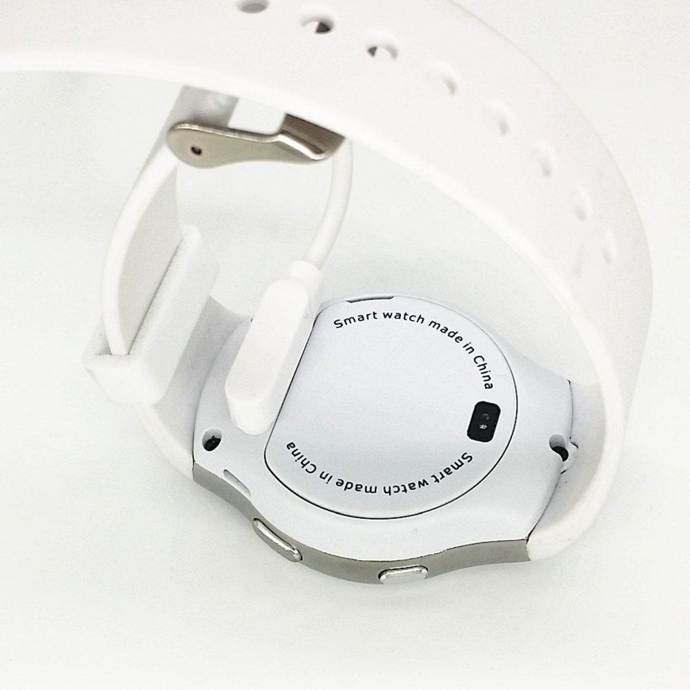 sepver reloj inteligente Cargador Cable para k88h kw88 KW18 G3 GT88 Reloj inteligente Bluetooth 4 Pins magnético Cargador cable de carga magnético adsorción ...