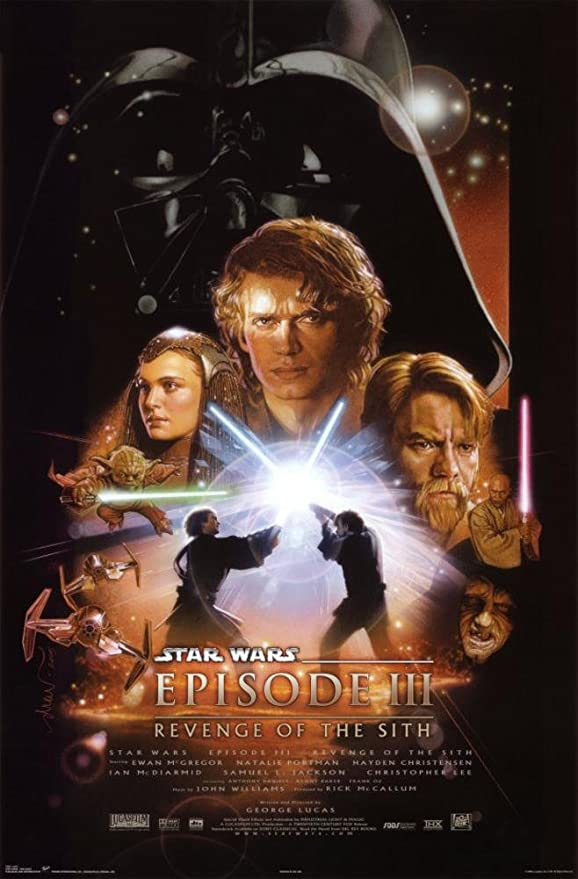 Amazon Com Star Wars Episode Iii Revenge Of The Sith Poster Poster Print 23x34 Posters Prints