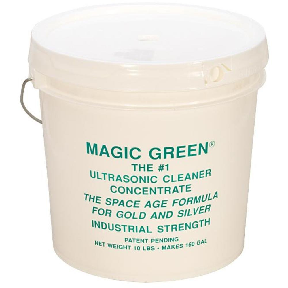 Magic Green Ultrasonic Cleaner Concentrate 10 Lb