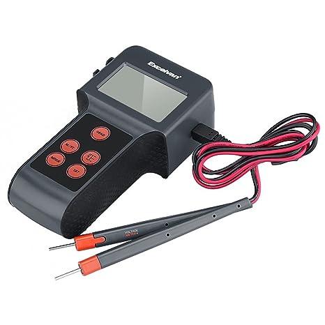 Excelvan – Ultrasónico de 5 en 1 multifunción de detector telémetro con puntero láser feutigkeit DC