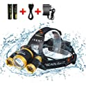 Free Walker 4 Modes LED Flashlight with Rotating Zoomable Light