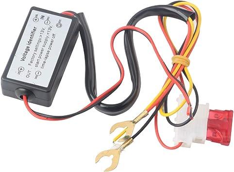 Controlador de luces de conducción diurna LED para automóvil Inteligente/Regulación/Retardo/Encendido/apagado automático Interruptor 12V para automóvil Auto Eagle Eye DRL modificado Universal: Amazon.es: Coche y moto