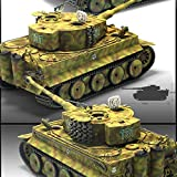 1/35 GERMAN TIGER-I VER.MID ACADEMY #13287