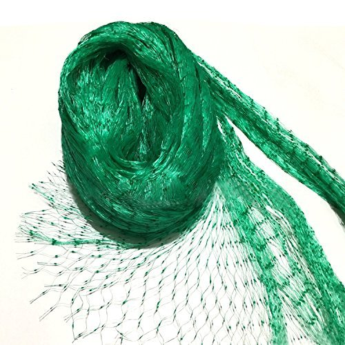 KINGLAKE 33 Ft x 13 Ft Green Garden Bird Net,Green Garden Plant Netting,Garden Plant Fruits Fencing Mesh