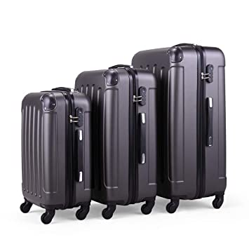 Amazon.com: LAZYMOON - Juego de maletas de viaje ...