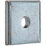 "VERSABAR VF-1101-3/8 SQUARE WASHER 3/8"" CLEARANCE ZINC PLATED 25/BOX"