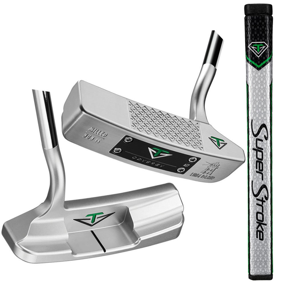 Palo de golf Odyssey, putter Long Island Toulon H6 con ...