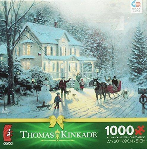 THOMAS KINKADE Christmas Puzzle