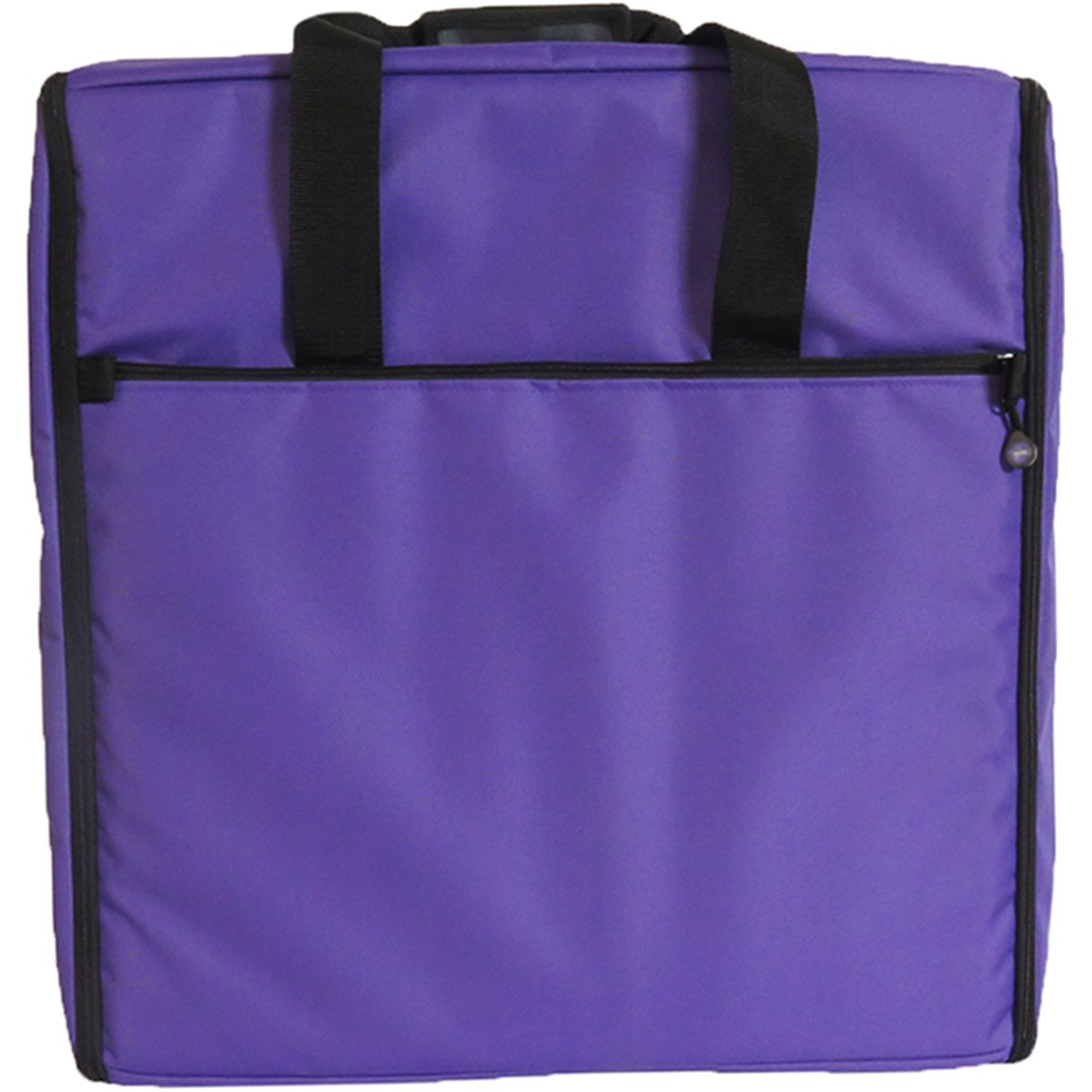 23 Embroidery Arm Bag 23x21x7-Purple
