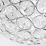Sunsbell Modern Luxury Crystal Wall Light Chrome
