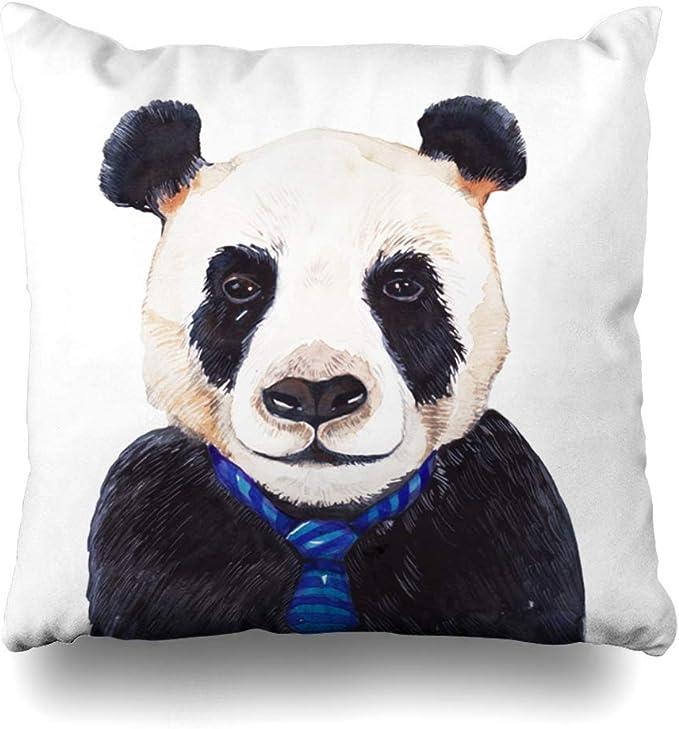 Throw Pillow Cover Avatar Blue Cute