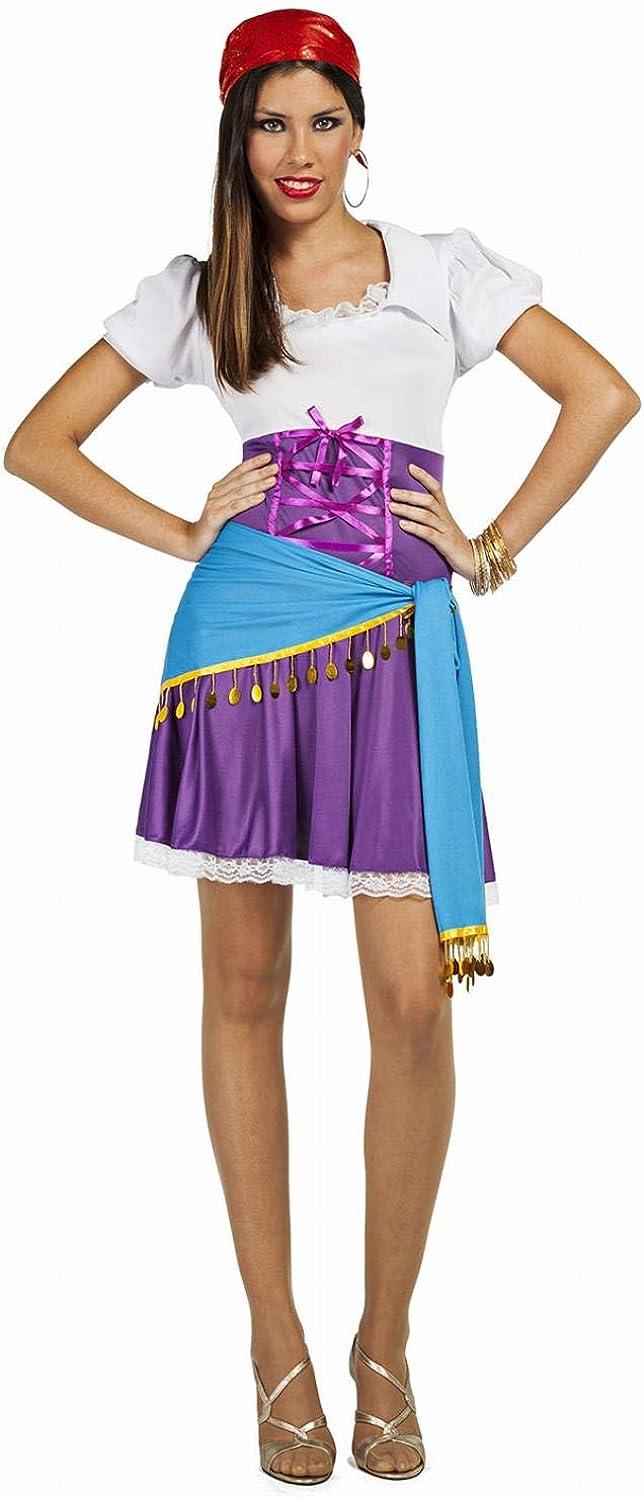 Disfraz de Zíngara Talla M/L: Amazon.es: Ropa y accesorios