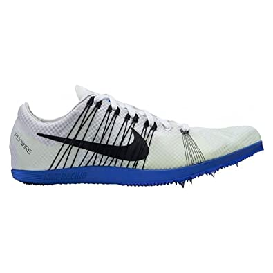 NIKE Zoom Matumbo Distance Track Spikes Shoes Mens Size 14 (White/Black/Blue