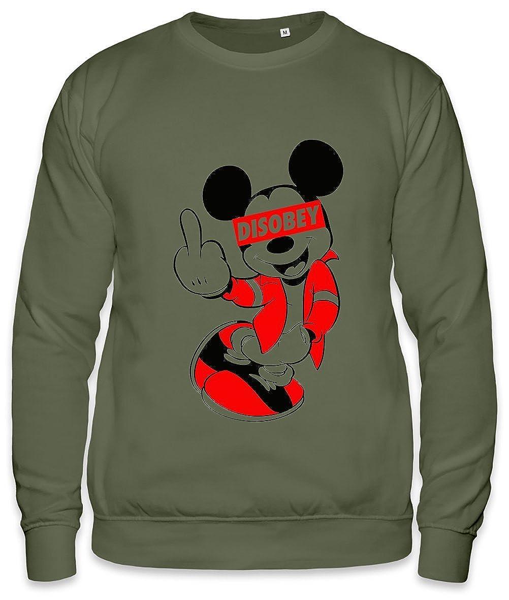 DISOBEY Mickey Mouse Unisex Sweatshirt