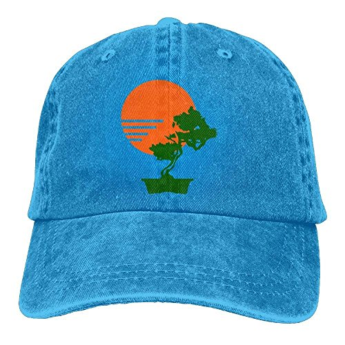 Bonsai Hat rongxincailiaoke Sun Men Tree béisbol Hat Adjustable amp; Cute Denim Baseball Gorras gnq0Ir0TW