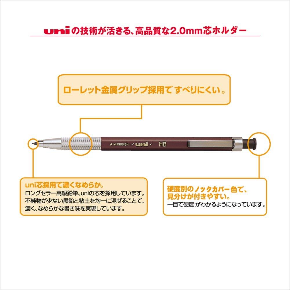 B ULNB 2.0mm Uni Drop Holder Type Pencil Lead