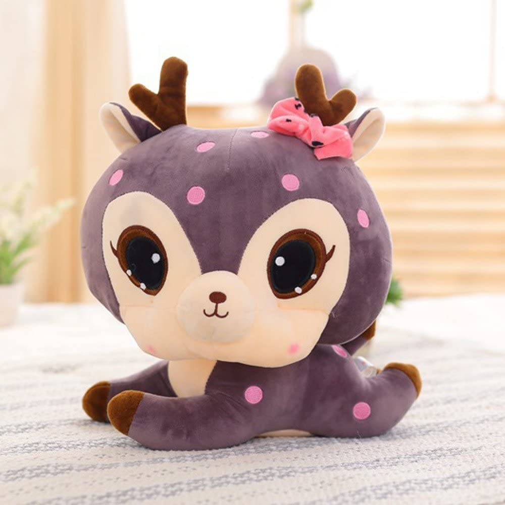 Insaneness Baby Toys 30cm Stuffed Animal Soft Simulation Lovely Plush Cute Deer Collection Toys Doll