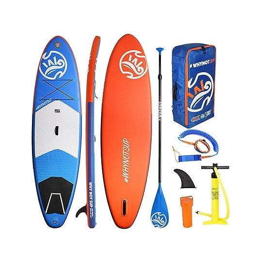 Kit de tabla de paletas de pie inflable Lake SUP Paddle Board ...