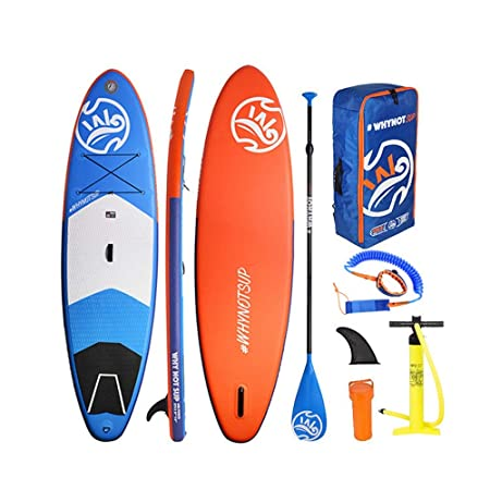 Kit de tabla de paletas de pie inflable Lake SUP Paddle ...