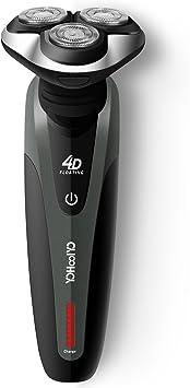 Maquina de Afeitar Barba Afeitadora Eléctrica Rotativa Resistente al ...