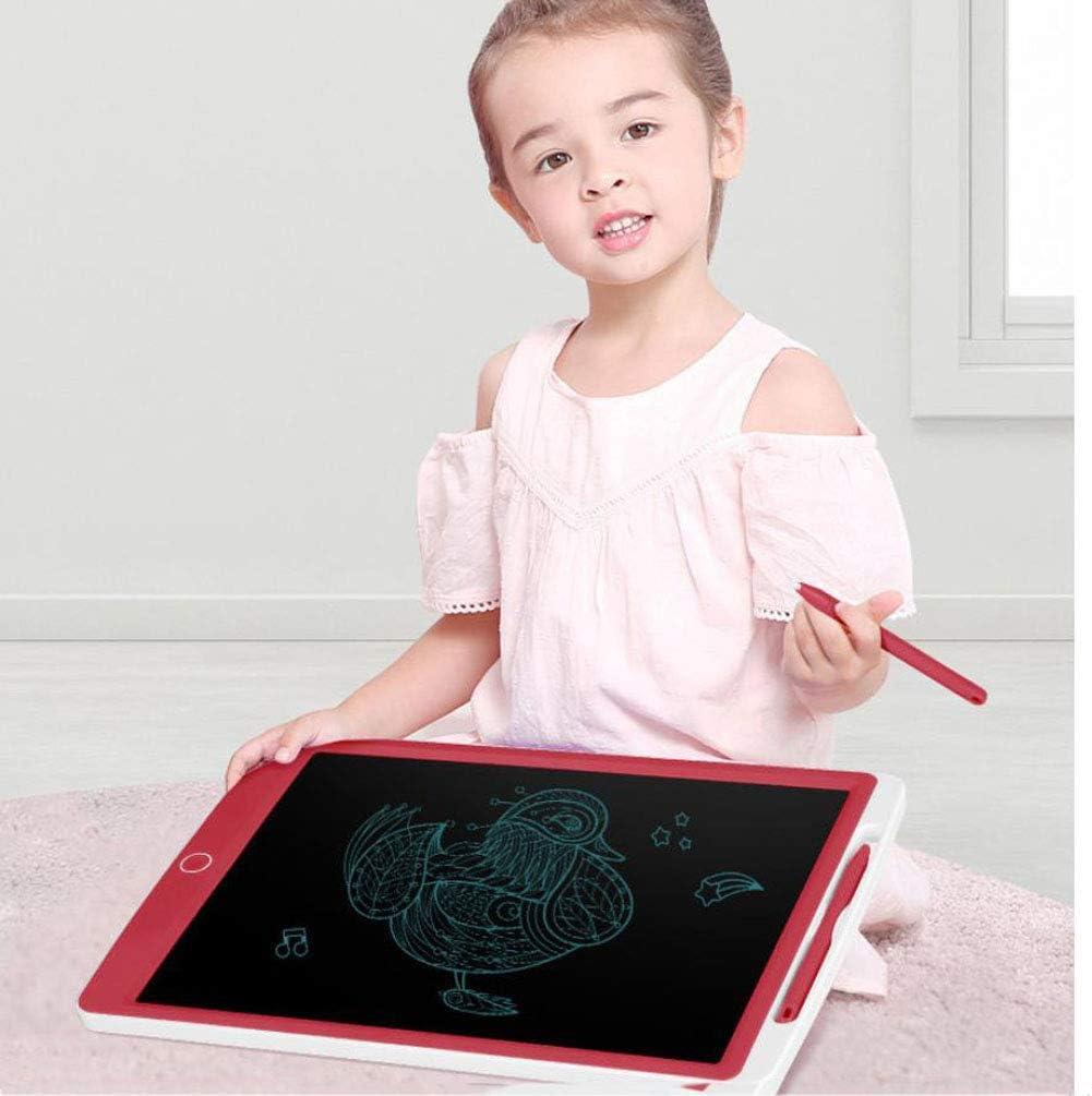 RONGJJ LCD Schreibtafel Magnetische Maltafel Schreibtafel, Buntes Display 8,5 Zoll Kinder Zeichentafel, Yellow, Monochrome Blue