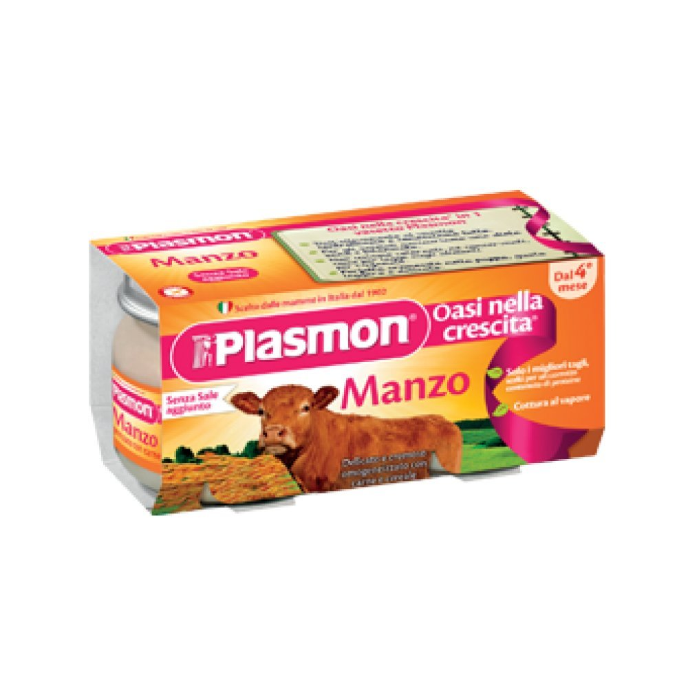 Plasmon Homogenized Beef 120gx2pz PLASMON (HEINZ ITALIA SpA)