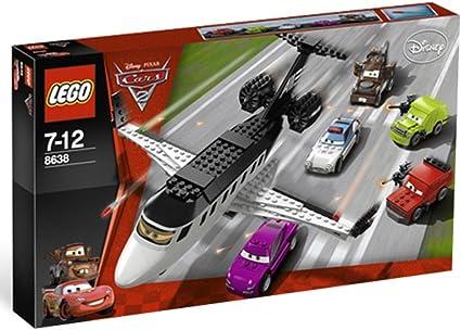 Amazon Com Lego Disney Pixar Cars 2 Spy Jet Escape 8638 Toys Games