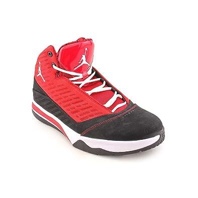 new arrival c0d00 708d5 Jordan Air B Mo Gym Red White Black 580590-601 Mens Basketball Shoes (