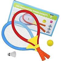 Akokie Raquetas Badminton Niños Raquetero Tenis Racket Raqueta