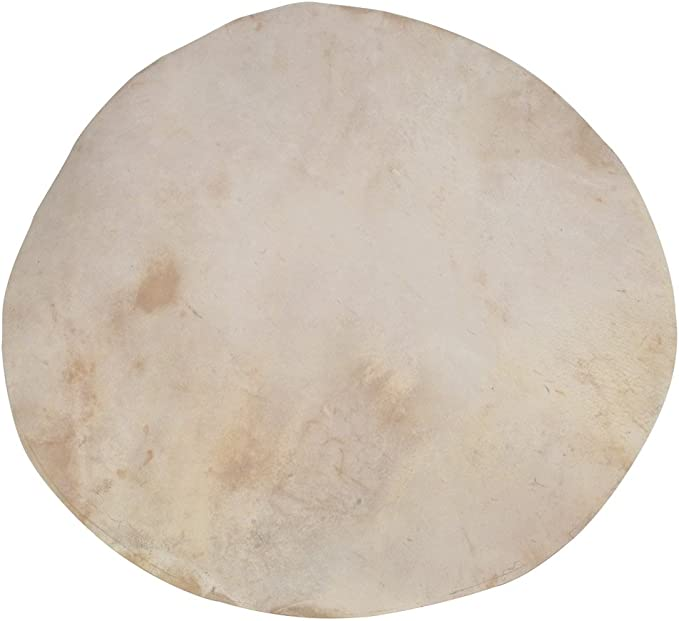 Lot of 10-Pieces Natural Goat Skins Thin Quality for Banjo //Size 18 inch Banjo